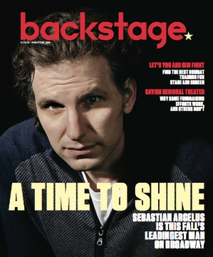 Sebastian Arcelus On the Cover of Backstage This Week!