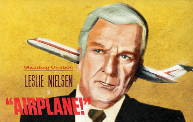 Standing Ovation: Leslie Nielsen in 'Airplane!'