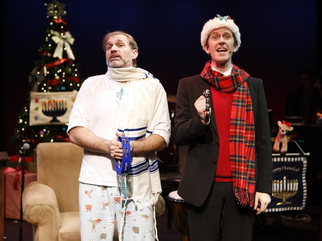 'The Holiday Guys in Happy Merry Hanu-Mas' Is as Chaotic as the Season