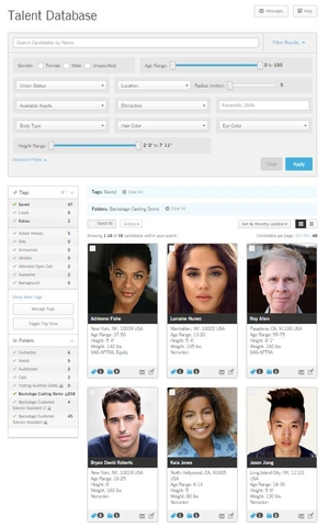 Backstage Launches New Talent Database