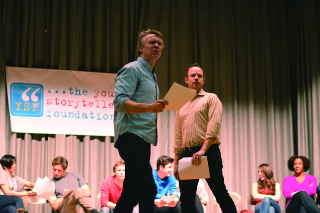 Tackling Roles Created by Fifth Graders for Young Storytellers Foundation