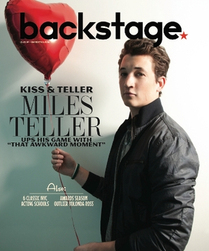Miles Teller On the Cover of Backstage This Week!