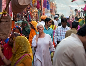 Video Exclusive: Maggie Smith and Judi Dench Discuss 'The Best Exotic Marigold Hotel'