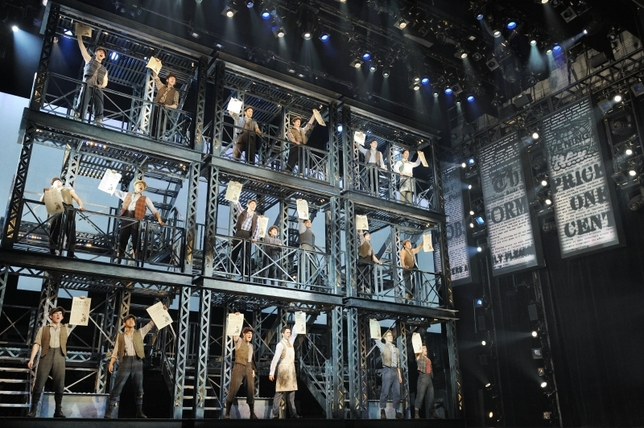 'Newsies' Wins Actors' Equity Award for Outstanding Broadway Chorus