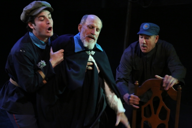 A 'King Lear' Played Too Much for Laughs