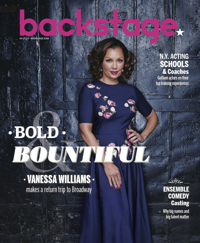 Vanessa Williams on the Cover of Backstage!