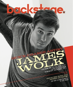 James Wolk On the Cover of Backstage This Week!