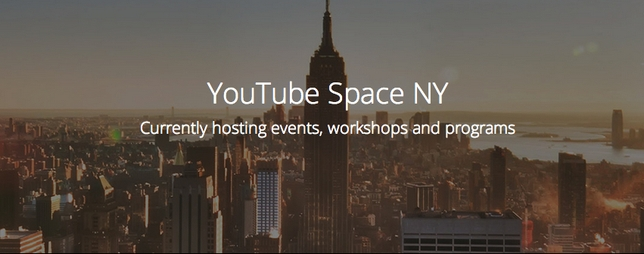 New York's YouTube Space Set to Open