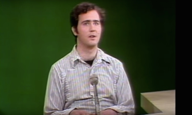WATCH: Andy Kaufman's Masterfully Weird 'SNL' Audition