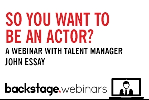 Live Webinar With Talent Manager John Essay
