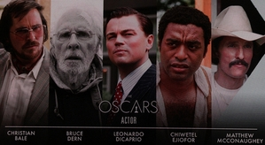 Oscars 2014: The Best Actor Nominees
