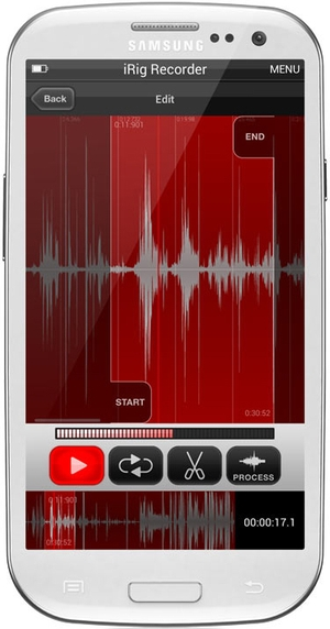 Record (and Edit) Audio Right From Your Smartphone With iRig Recorder