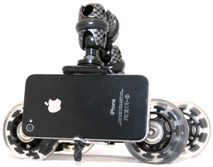 A Portable Dolly for Your iPhone Camera
