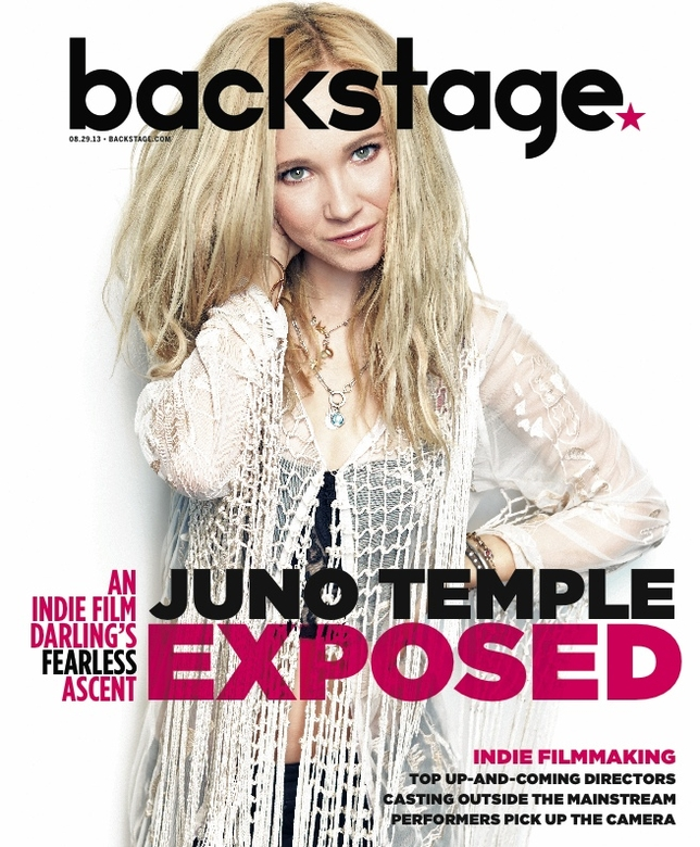 Juno Temple On the Cover of Backstage This Week!