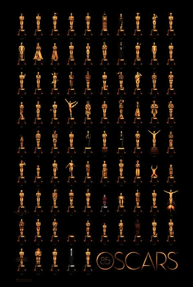 New Oscar Poster Celebrates Winners Since 1927