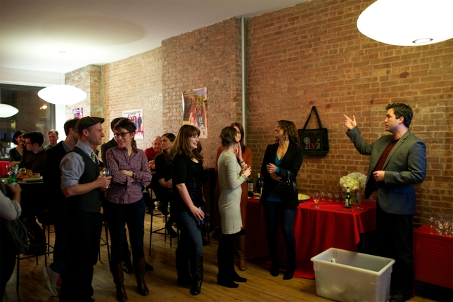 Web Series Creators Mingle and Drink at ITVFest's Mixer