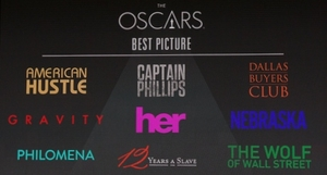 Oscars 2014: The Best Picture Nominees