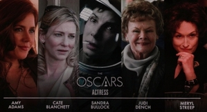 Oscars 2014: The Best Actress Nominees