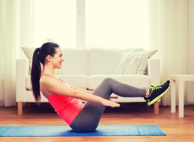 3 Exercises Anyone Can Do at Home