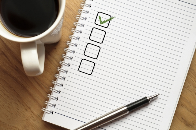 A Checklist for Successful Auditions