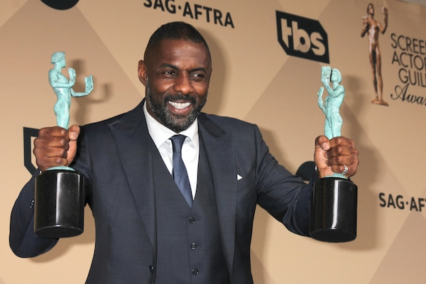 Idris Elba and 'Spotlight' Win Big at SAG Awards