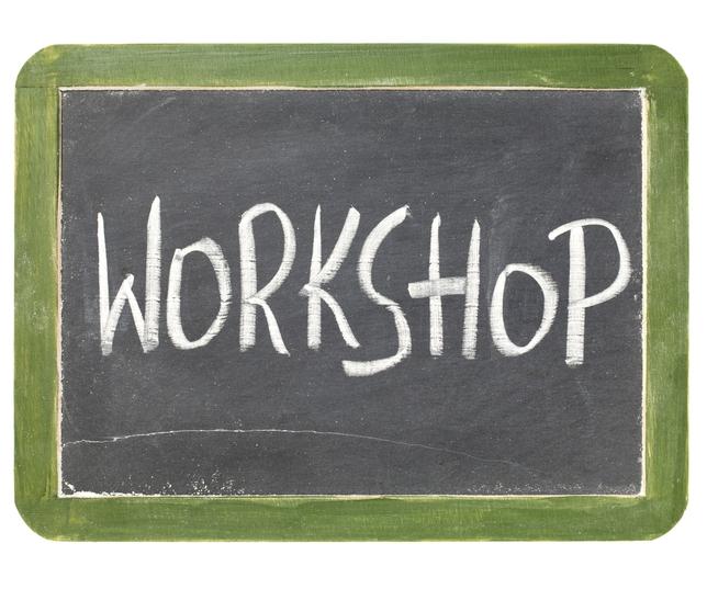 4 of This Week's Great Workshop Listings!