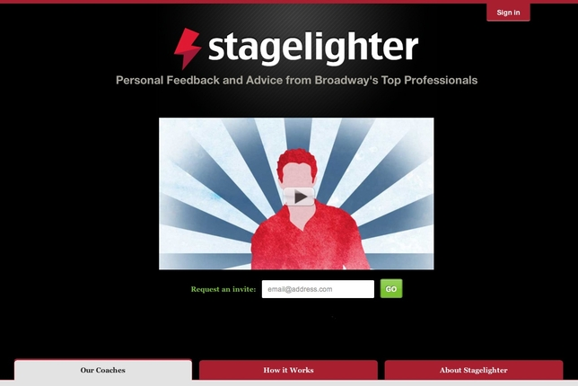 Stagelighter Offers Expert Coaching to Aspiring Actors